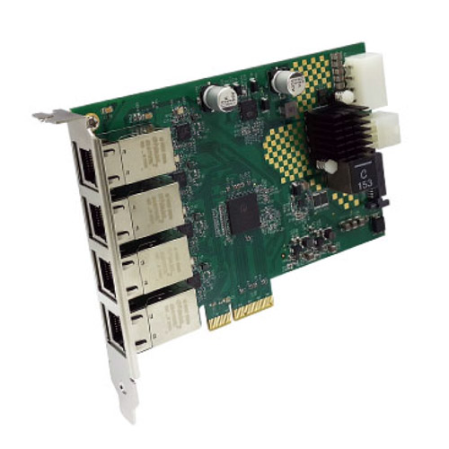 GEPX4-PCIE4XE301 / 4포트 POE+